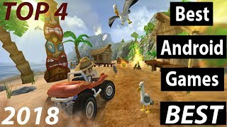TOP 4 Best  Free  Android &  iOS  Games  2018