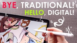 THE MOST POPULAR DIGITAL ART PROGRAM! - Traditional Artist Tries Procreate