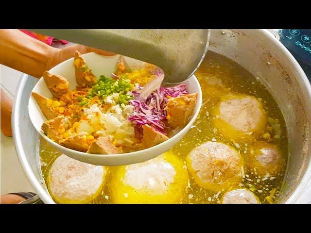 Choáng ngợp Bò Viên 10 Vị giá 200k chỉ bán 3 tiếng là hết ở Sài Gòn | street food saigon