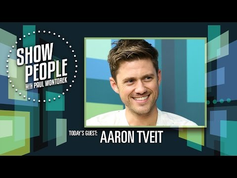 Show People with Paul Wontorek: Broadway & TV Star Aaron Tveit (BRAINDEAD, GREASE: LIVE, GRACELAND)