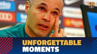 [BEHIND THE SCENES] The most emotional moments of Iniesta's goodbye
