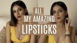 REVEALING: ALL My Favourite LIPSTICKS!   Komal Pandey