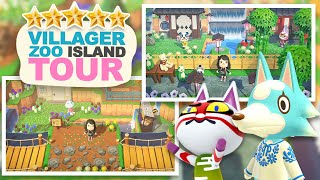 ZOO themed 5 Star Island Tour in Animal Crossing New Horizons