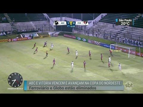 Grupo B já tem os representantes para mata-mata da Copa do Nordeste   SBT Brasil (28/03/18)