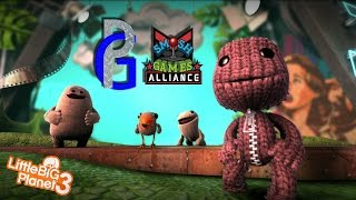 Little Big Planet 3 Oddsock Learning Curve