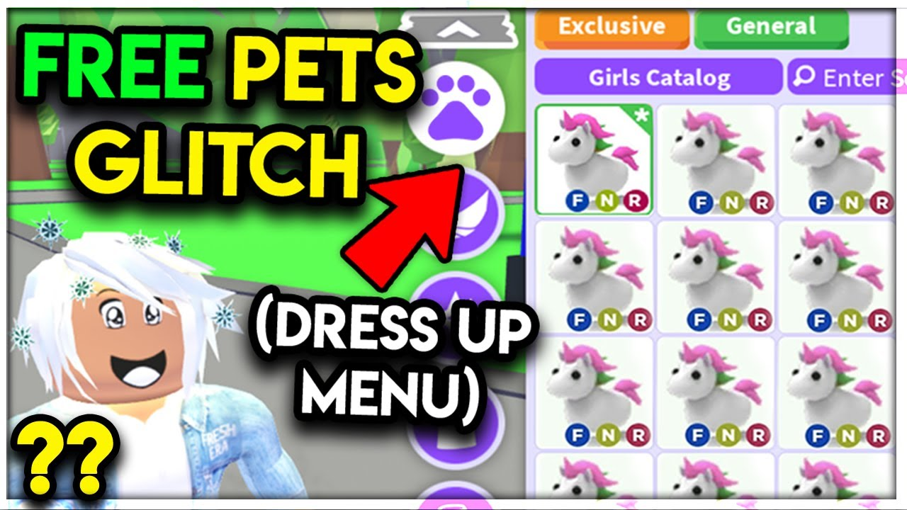 Secret Menu For Free Neon Legendary Pets Exposed Adopt Me Youtube