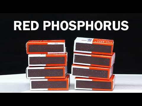 Red Phosphorus from Matchboxes