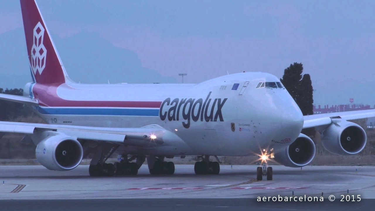 Vcb: [FULL HD] Cargolux Airlines International 747-8R7F