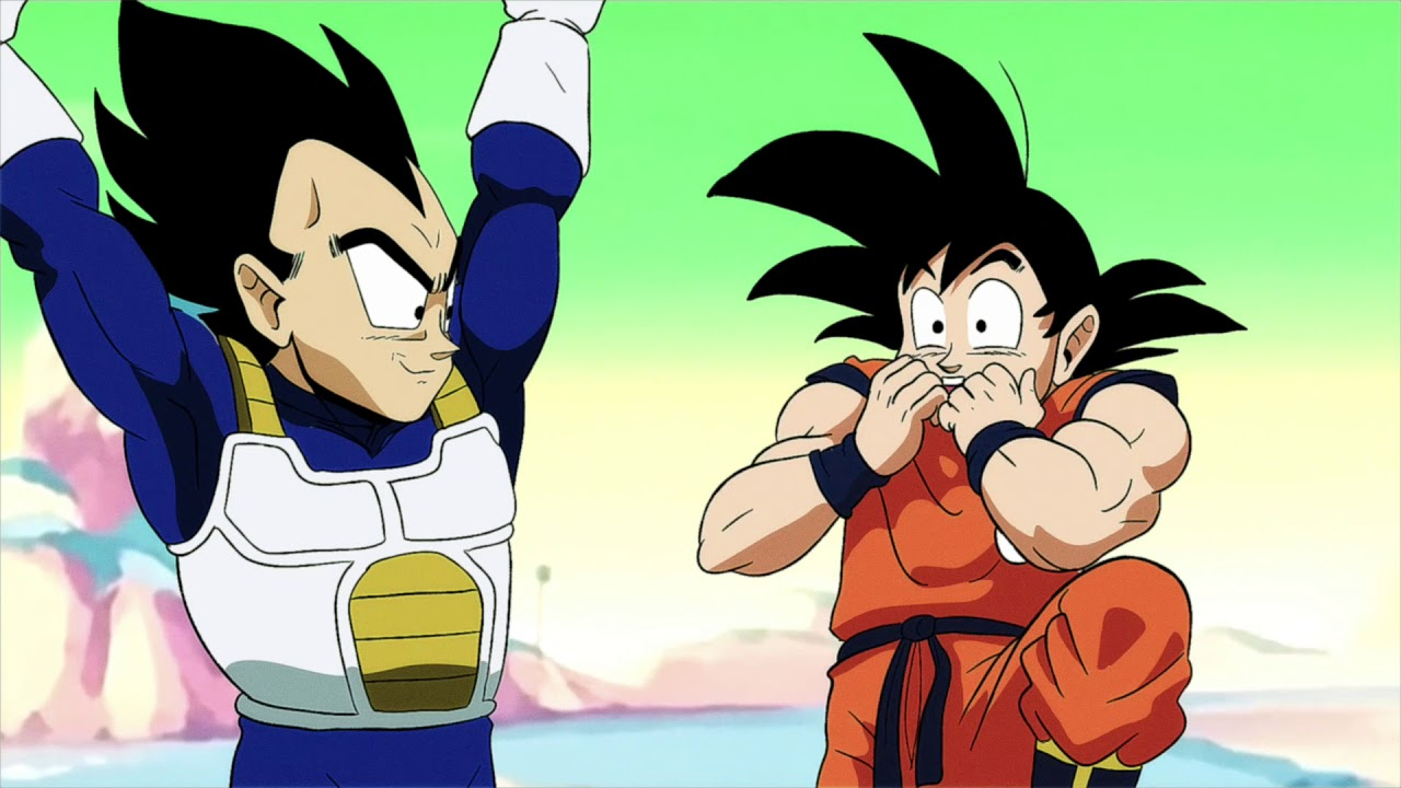Dragonball Z Did We Just Become Best Friends Youtube