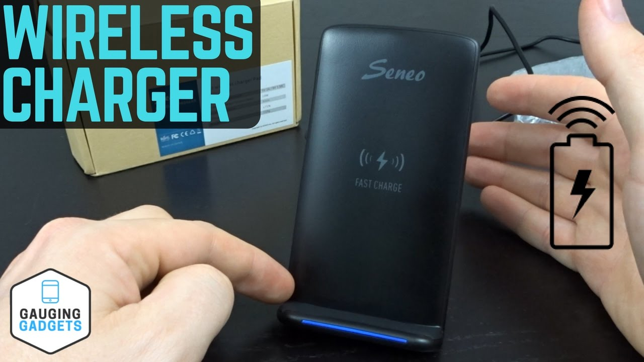 Seneo Fast Wireless Charger Review Qi Wireless Charging