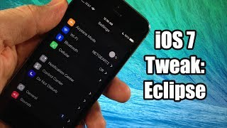 iOS 7 Jailbreak Tweak - Eclipse