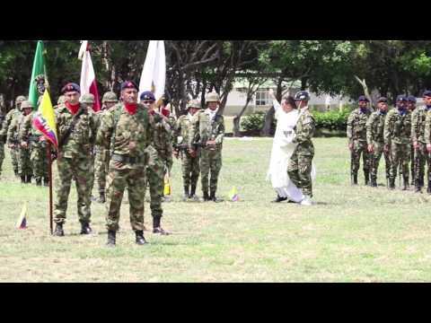 Juramento de Bandera 5/16 Ejercito Colombia