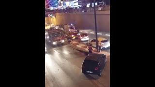 Antalyada son dakika haberleri mark antalya önünde trafik kazası