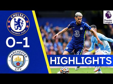 Chelsea 0-1 Manchester City |  Highlights of the Premier League