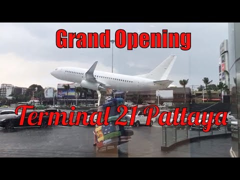 Grand Opening of Terminal 21 Pattaya,Thailand