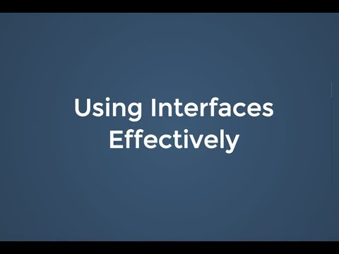 PHP Dublin 2018: Using Interfaces Effectively