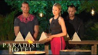 Det dramatiska pyramidspelet – vem måste lämna?   Paradise Hotel