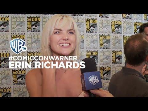 ComicConWarner  Gotham: Erin Richards