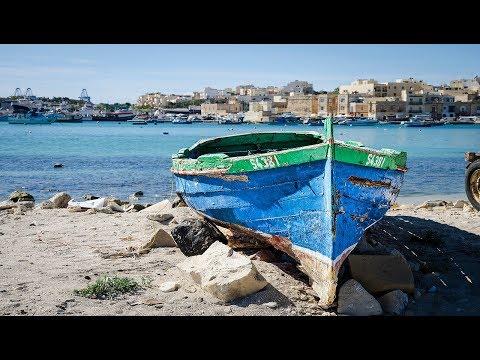Marsaxlokk Harbour (Malta) - Stara Rybacka Wioska
