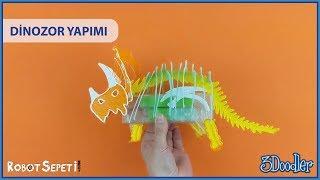 3Doodler Aktivite Seti (Dinozor Yapımı)