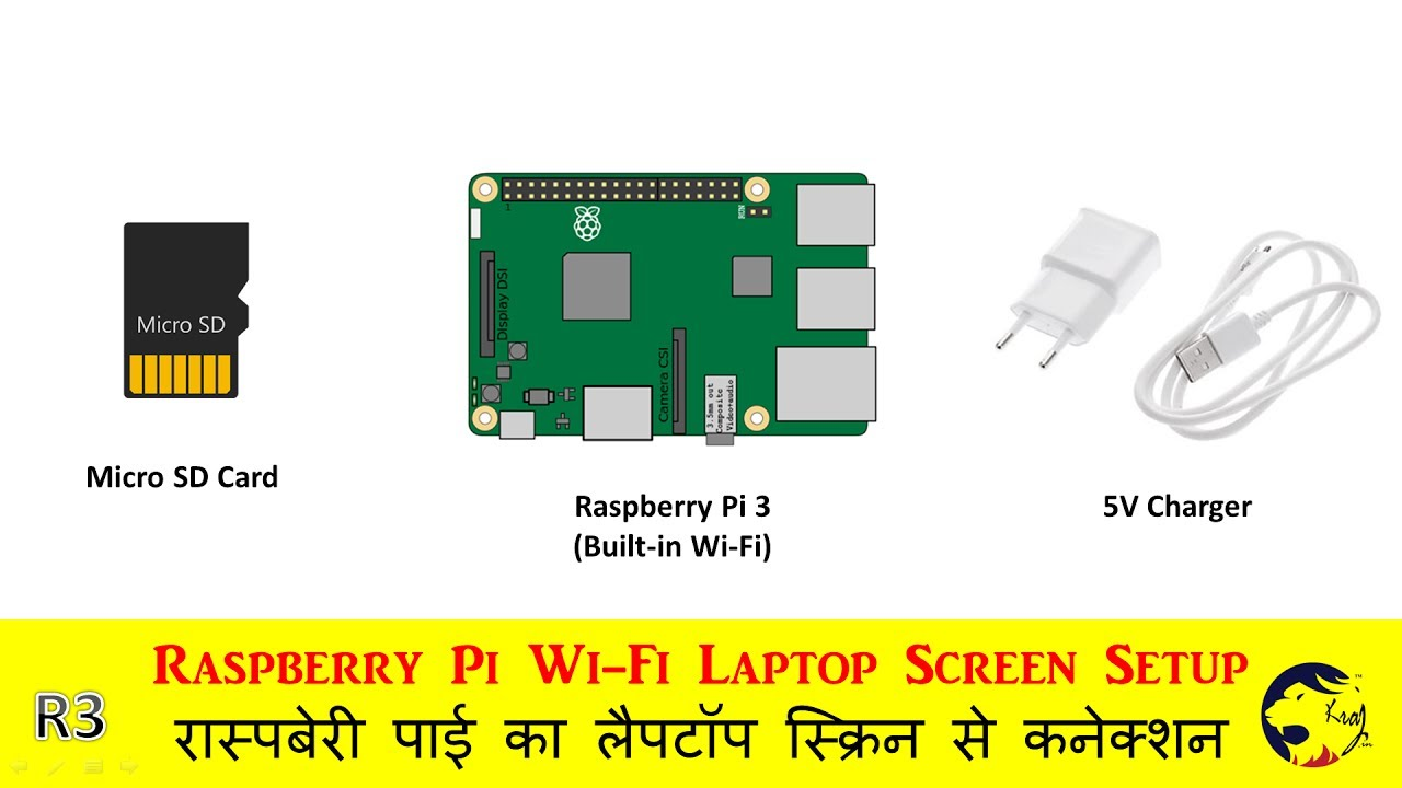 How to Setup Raspberry Pi 3 Without Ethernet Cable Using WiFi | Kraj