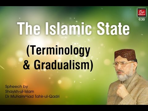 The Islamic State (Terminology & Gradualism)