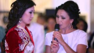 Напутствие матери своей дочери на казахском и русском языках. Смотреть до конца.