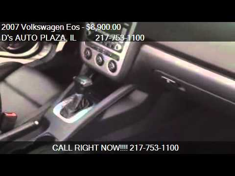 2007 Volkswagen Eos 2.0T - for sale in Springfield, IL 62702