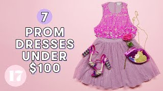 Cutest Cheap Prom Dresses Under $100 | Style Lab