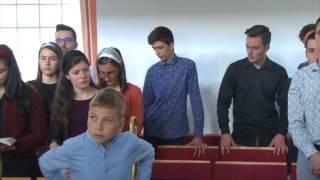 Dominic Mihai Bulc. Ziua binecuvantarii in biserica Sfanta Treime Sibiu