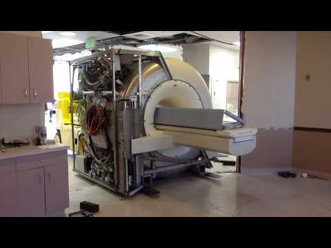 California Machinery Movers Moving an MRI Machine