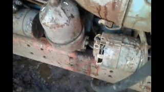 Включаем масляный радиатор трактора Т 28
