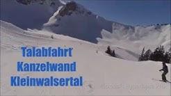 Kleinwalsertal - AT -  Kanzelwand Talabfahrt - Microsoft Hyperlapse