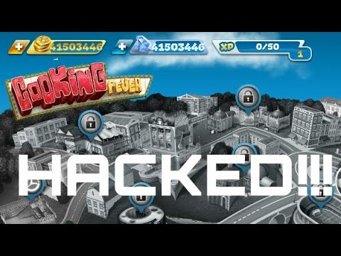 COOKING FEVER HACK | UNLIMITED FREE GEMS & COINS For Android