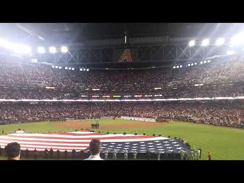 Arizona Diamondbacks-Colorado Rockies National Anthem
