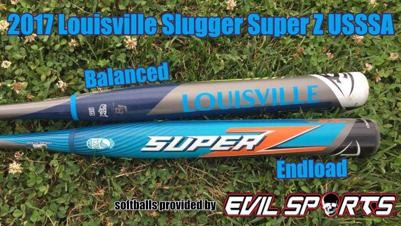 2017 Louisville Slugger Super Z USSSA (Endload and Balanced)