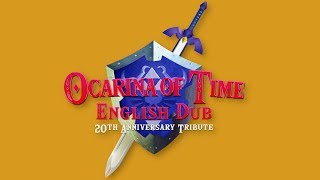CAST & RELEASE DATE | Ocarina of Time: English Dub - 20th Anniversary Tribute - Zelda Universe