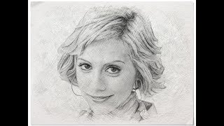 Brittany Murphy Speed Drawing