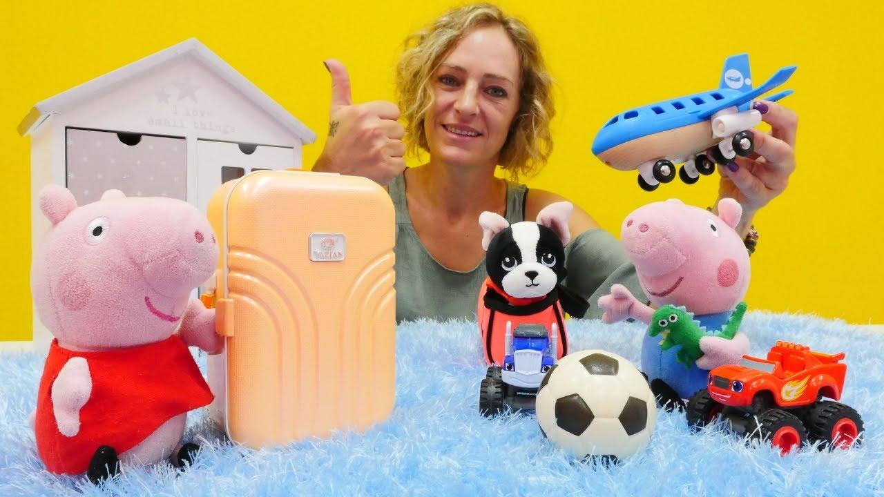 Peppa Wutz Videos  Lern ENGLISCH mit PEPPA WUTZ Spielzeug