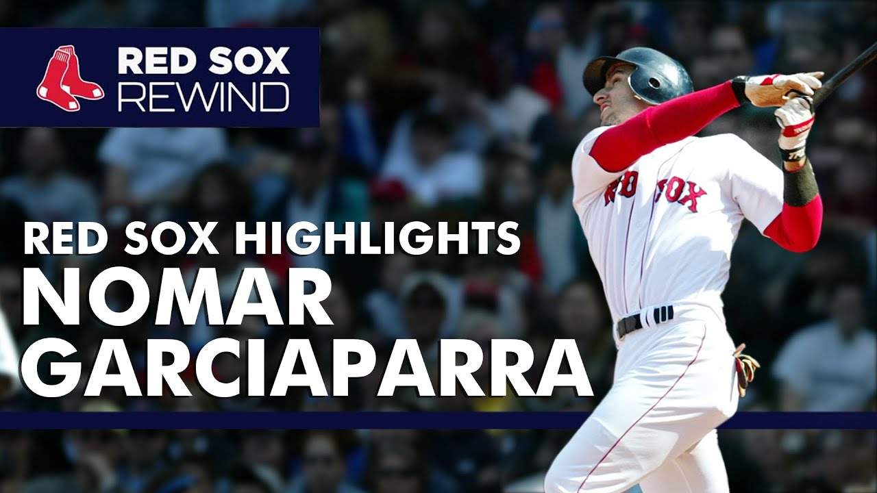 Nomar Garciaparra Red Sox Career Highlights | Red Sox Rewind