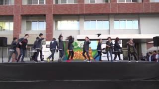 第66回茨苑祭での茨城大学ストリートダンスサークル「踊り屋さん」によ...