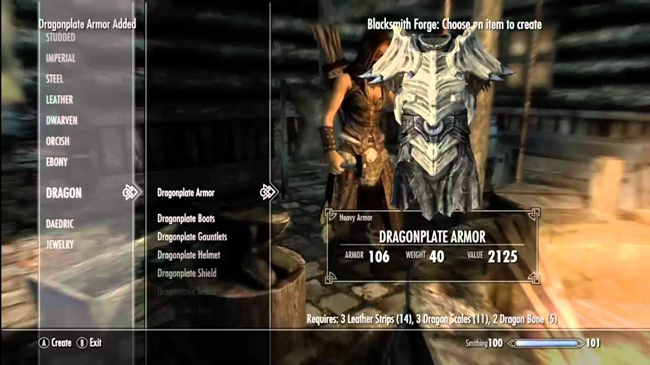 Elder Scrolls Skyrim How To Make Best Weapons And Armor