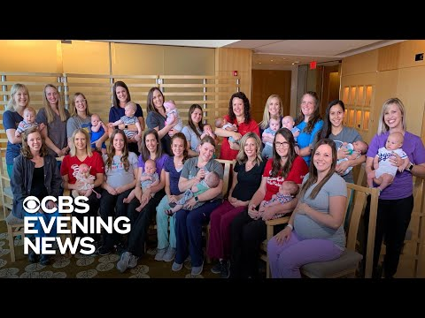 The Mayor Pete Kennedy - Meet 36 nurses from the same hospital who are having babies together.