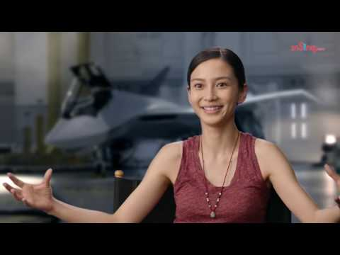 Angelababy on her 'Independence Day: Resurgence' character