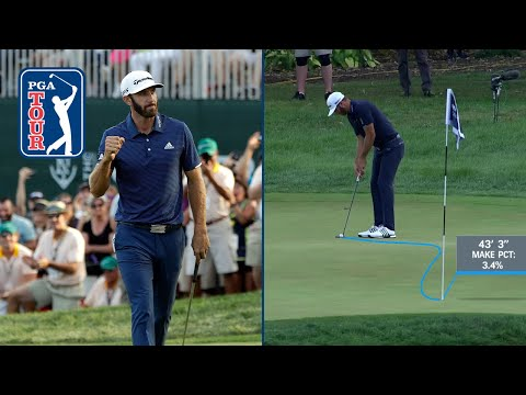 Dustin Johnson's all-time best shots in the FedExCup Playoffs