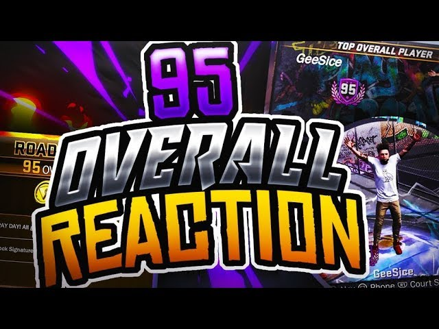 95 OVERALL LIVE REACTION! DOUBLE VC FOR EVERY GAME!
