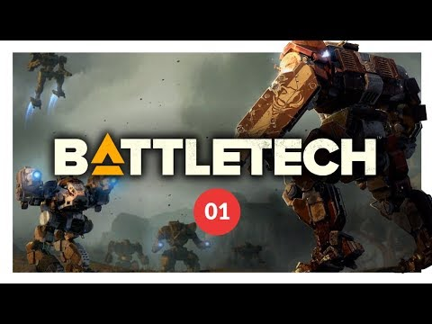 BATTLETECH | BRINGING DOWN THE HAUST - Let's Play 01 (PC GAMEPLAY)