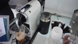 Nespresso - making Ice Coffee