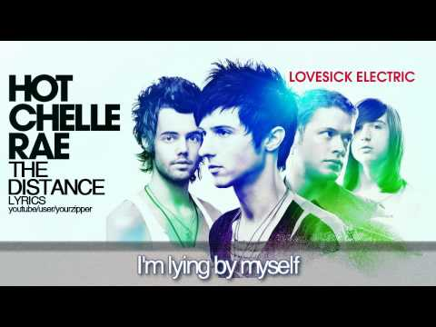 Hot Chelle Rae - The Distance (lyrics on screen and description)