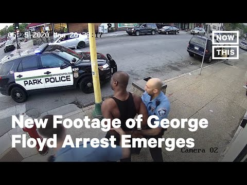 New Footage Of George Floyd's Arrest Emerges | NowThis